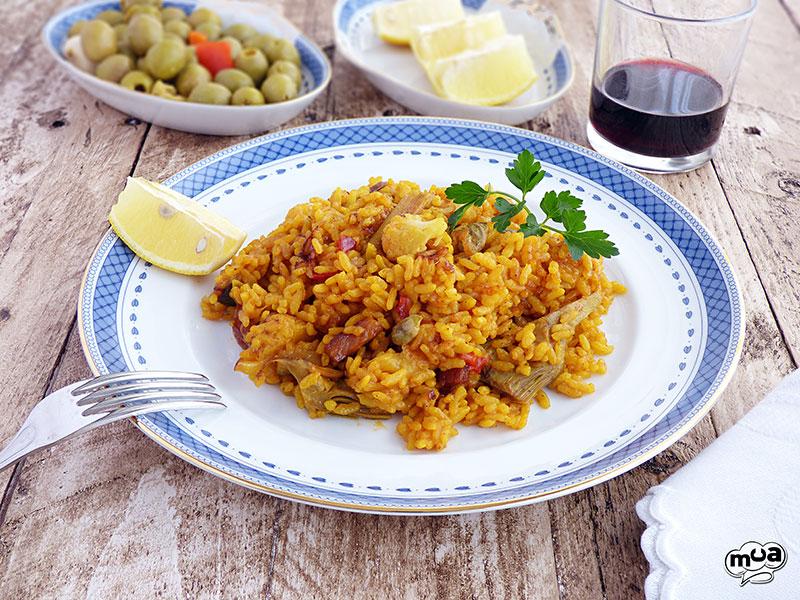 Arroz con magro y verduras rico no ricote - Arroz con pescado y verduras ...