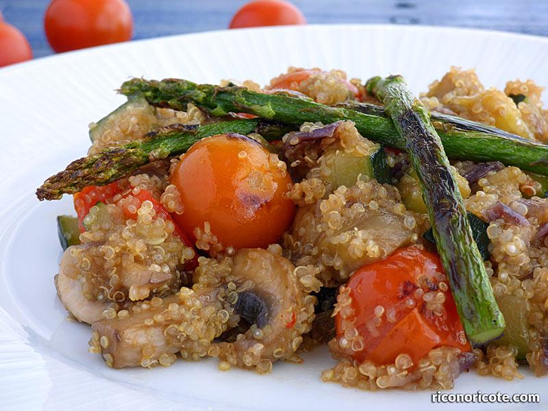 Quinoa con verduras salteadas rico no ricote for Cocina quinoa con verduras